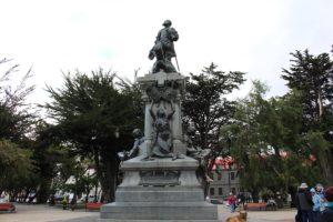 Monumento a Magellano, Punta Arenas, Cile. Autore e Copyright Marco Ramerini