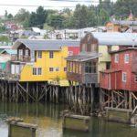 Palafitte Gamboa, Castro, Isla Chiloe, Cile. Autore e Copyright Marco Ramerini
