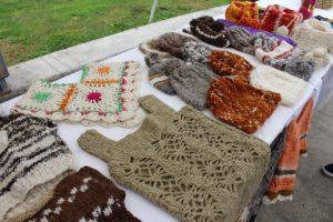Prodotti artigianali, Castro, Isla Chiloe, Cile. Autore e Copyright Marco Ramerini