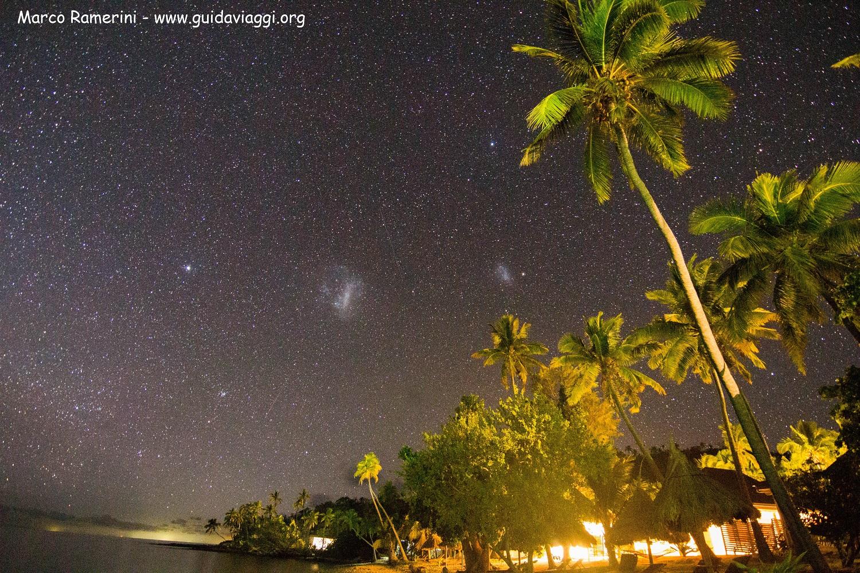Nubi di Magellano, Naukacuvu, Isole Yasawa, Figi. Autore e Copyright Marco Ramerini