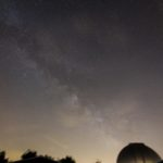 Via Lattea nella costellazione del Sagittario Obiettivo Tokina AT-X (11-20 mm) 11 mm F 2.8, ISO 400, tempo di posa 3 minuti, inseguimento con Sky Adventurer SkyWatcher. Autore e Copyright Marco Ramerini