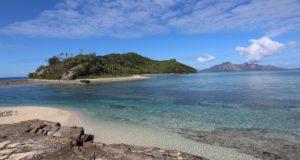 Narara vista da Naukacuvu, Isole Yasawa, Figi. Autore e Copyright Marco Ramerini