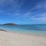 La spiaggia del Paradise Beach Resort, Nacula, Isole Yasawa, Figi. Autore e Copyright Marco Ramerini