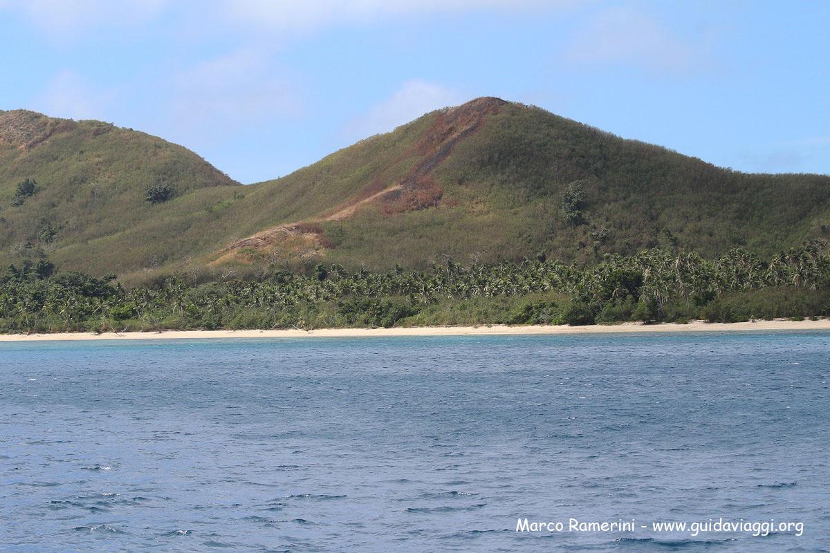 Crociera alle isole Yasawa settentrionali. Naviti Island, Yasawa, Figi. Autore e Copyright Marco Ramerini