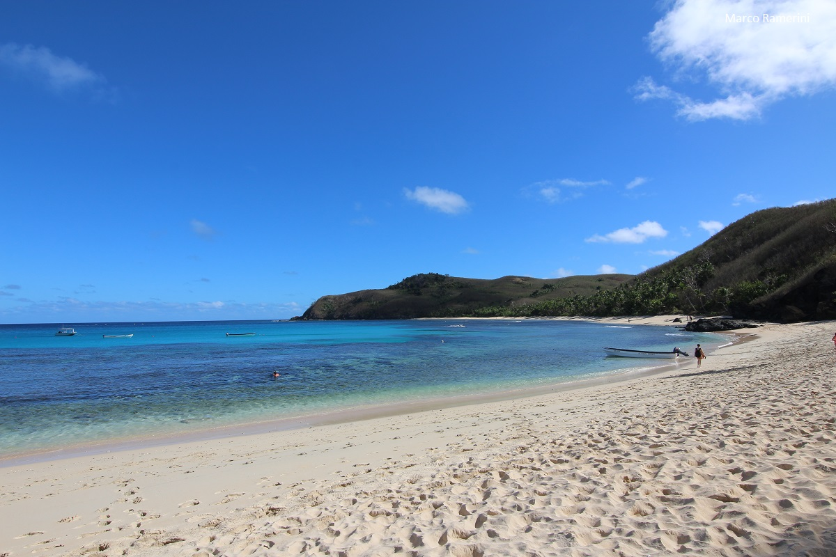 Octopus Resort, Waya, Isole Yasawa, Figi. Autore e Copyright Marco Ramerini