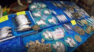 Pesce, Singi (Shingi) Market, Incheon, Corea del Sud. Autore e Copyright Marco Ramerini.,