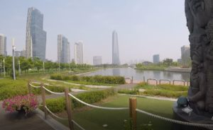 Songdo Central Park, Corea del Sud. Autore e Copyright Marco Ramerini.