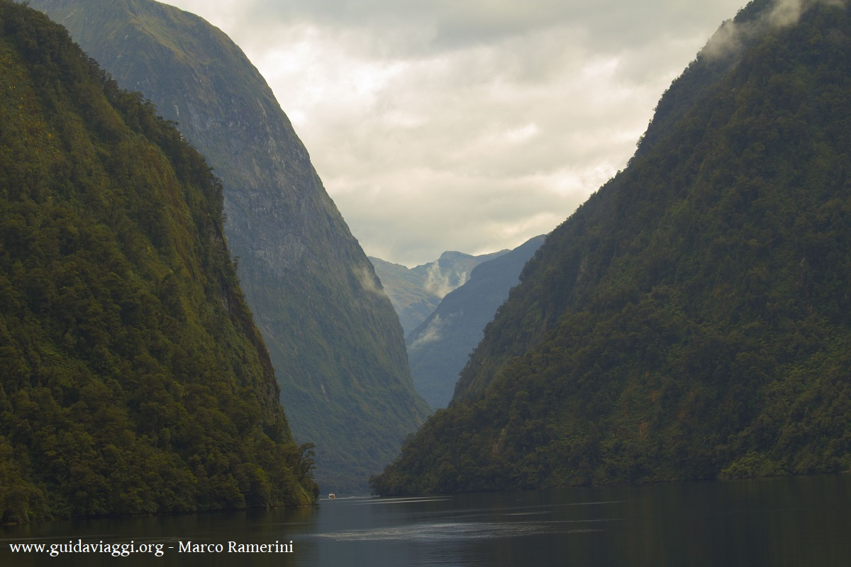 Doubtful Sound, Nuova Zelanda. Autore e Copyright Marco Ramerini