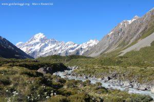 Mount Cook, Nuova Zelanda. Autore e Copyright Marco Ramerini