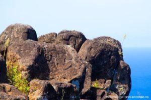 Orongo, Isola di Pasqua, Cile. Autore e Copyright Marco Ramerini