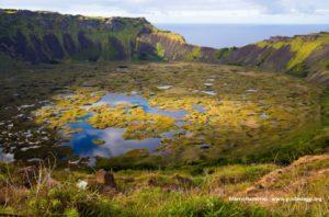 Rano Kao, Isola di Pasqua, Cile. Autore e Copyright Marco Ramerini