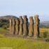 Ahu Akivi, Isola di Pasqua, Cile. Autore e Copyright Marco Ramerini,