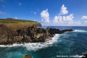 Ana Kai Tangata, Isola di Pasqua, Cile. Autore e Copyright Marco Ramerini,