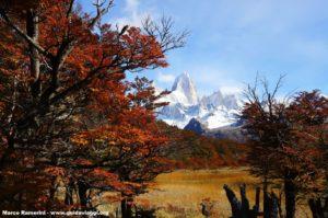 Monte Fitz Roy, Parco Nazionale Los Glaciares, Argentina. Autore e Copyright Marco Ramerini