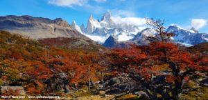Monte Fitz Roy, Parco Nazionale Los Glaciares, Argentina. Autore e Copyright Marco Ramerini.,.