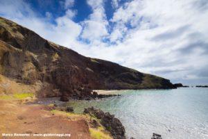 Ovahe, Isola di Pasqua, Cile. Autore e Copyright Marco Ramerini,
