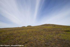 Poike Volcano, Isola di Pasqua, Cile. Autore e Copyright Marco Ramerini,