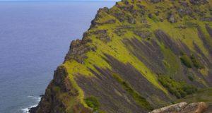 Rano Kau, Isola di Pasqua, Cile. Autore e Copyright Marco Ramerini.