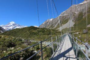 Hooker Valley Track, Nuova Zelanda. Autore e Copyright Marco Ramerini