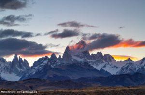 Monte Fitzroy e Cerro Torre, Patagonia, Argentina. Autore e Copyright Marco Ramerini