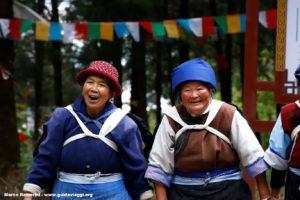 Donne, Baisha, Yunnan, Cina. Autore e Copyright Marco Ramerini.
