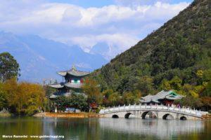 Lago del Drago Nero, Lijiang, Yunnan, Cina. Autore e Copyright Marco Ramerini