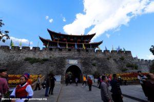 Mura di Dali, Yunnan, Cina. Autore e Copyright Marco Ramerini.