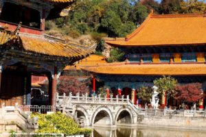 Tempio Yantong, Kunming, Yunnan, Cina. Autore e Copyright Marco Ramerini.