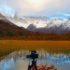 Fotografando il Mount Fitz Roy dalla Laguna Capri, Patagonia, Argentina. Autore e Copyright Marco Ramerini