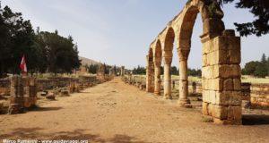 Anjar, Valle della Beqa, Libano. Autore e Copyright Marco Ramerini