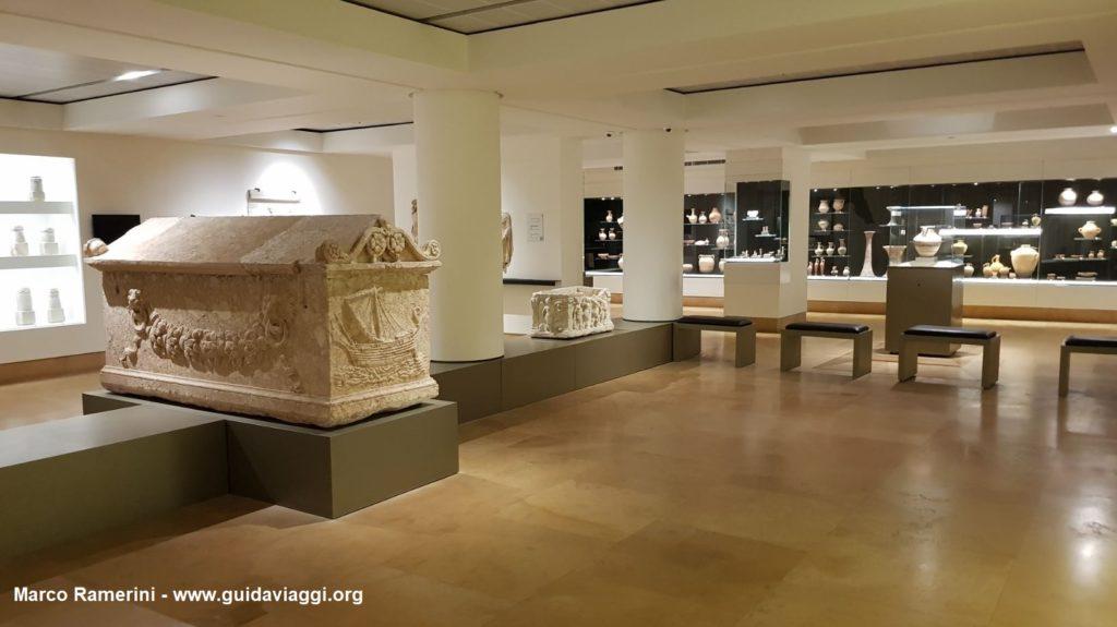 Il Museo Nazionale di Beirut, Libano. Autore e Copyright Marco Ramerini