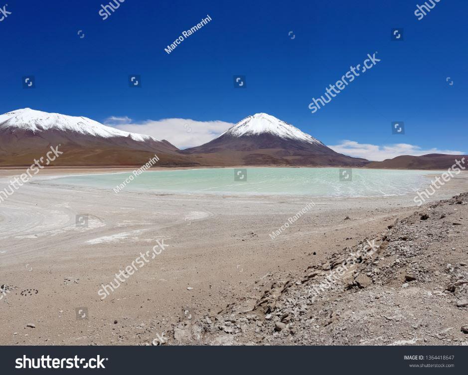 Laguna Verde, Bolivia. Autore e Copyright Marco Ramerini