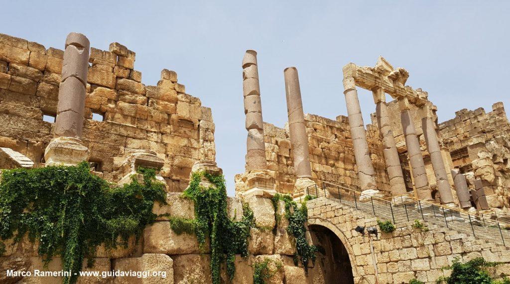 L'ingresso a Baalbek, Valle della Beqa,Libano. Autore e Copyright Marco Ramerini