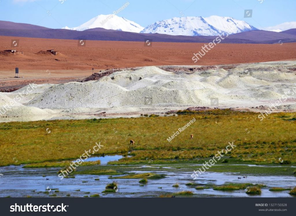 I colori degli altopiani andini, Cile. Autore e Copyright Marco Ramerini