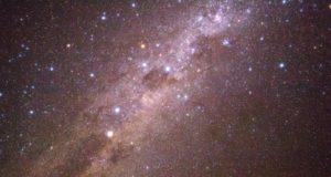 La Via Lattea con la Croce del Sud e Eta Carinae. Deserto di Atacama, Cile. Autore e Copyright Marco Ramerini
