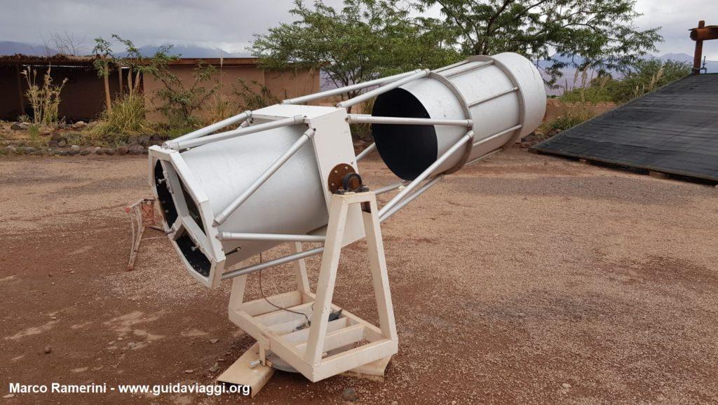 Un telescopio dell'osservatorio astronomico di Alain Maury, San Pedro de Atacama, Cile. Autore e Copyright Marco Ramerini