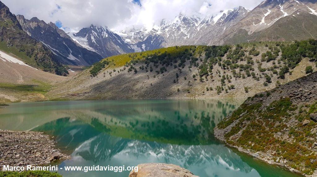 Il lago Rama e il Nanga Parbat, Pakistan. Autore e Copyright Marco Ramerini