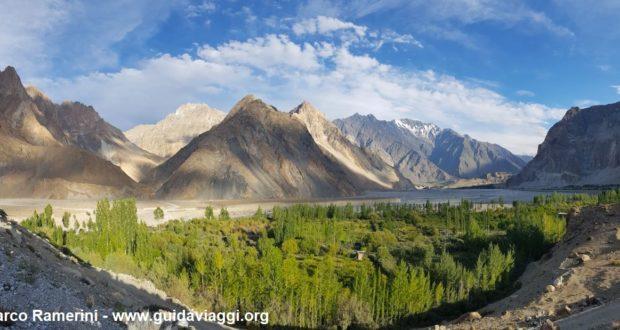 Passu Cones, Hunza Valley, Pakistan. Autore e Copyright Marco Ramerini.