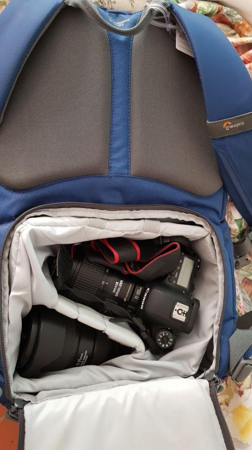 Zaino fotografico da viaggio, Lowepro BP 250 AW