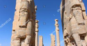 Persepoli, Iran. Porta di tutte le Nazioni. Rovine della capitale cerimoniale dell'Impero persiano (Impero achemenide), Iran. Autore e Copyright Marco Ramerini