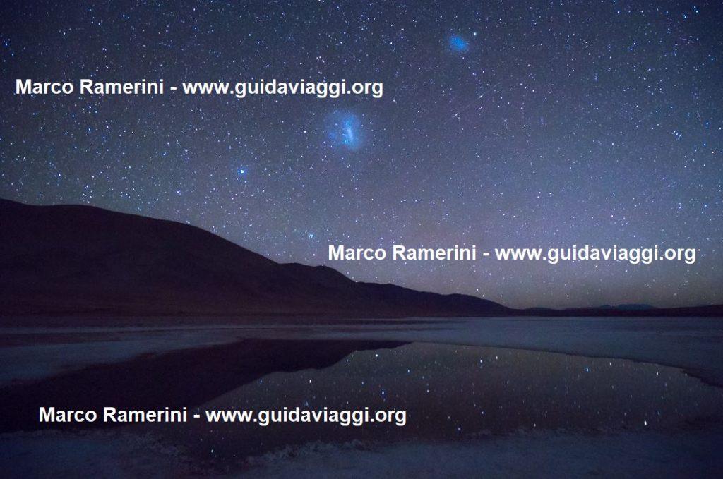 Gli Ojos de Mar e le stelle riflesse, Argentina. Autore e Copyright Marco Ramerini