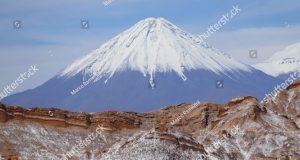 Il vulcano Licancabur, San Pedro de Atacama, Cile. Autore e Copyright Marco Ramerini