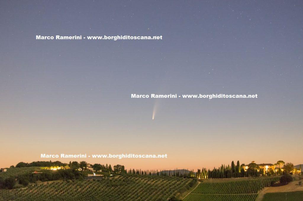 Cometa Neowise. Autore e Copyright Marco Ramerini,