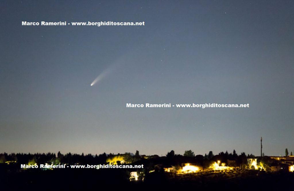 La Cometa. Autore e Copyright Marco Ramerini