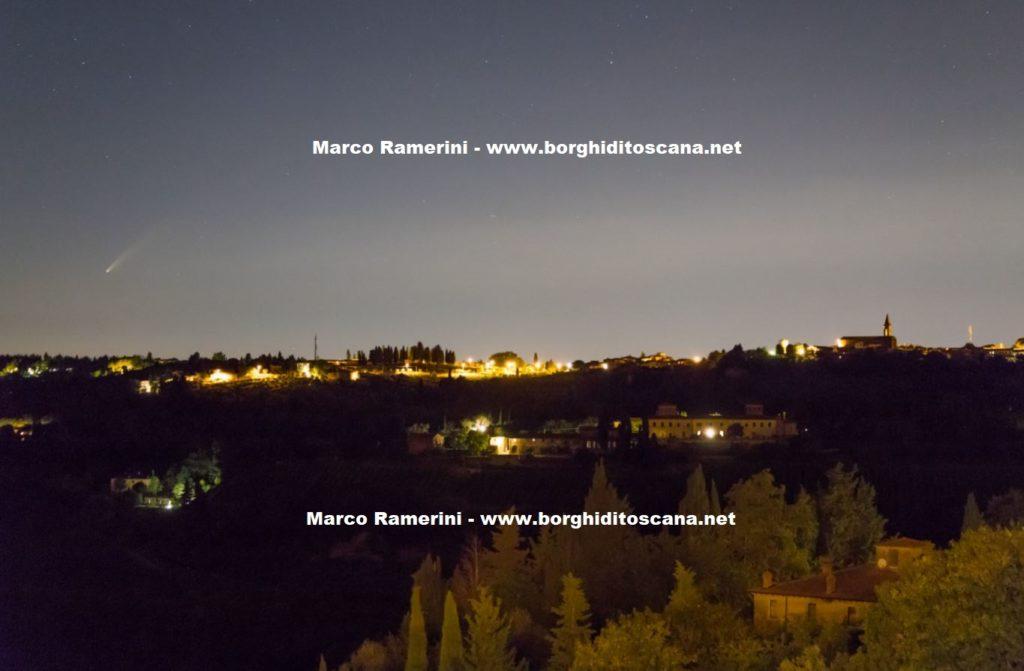 La Cometa e il Borghetto, Tavarnelle Val di Pesa, Firenze. Autore e Copyright Marco Ramerini